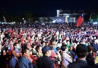 韓國瑜造勢人潮 小英後援會長預言投票結果