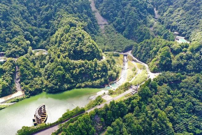 必坦溪今年整治完成,通過0518豪大雨及利奇馬颱風考驗。(東勢林管處提供/王文吉台中傳真)