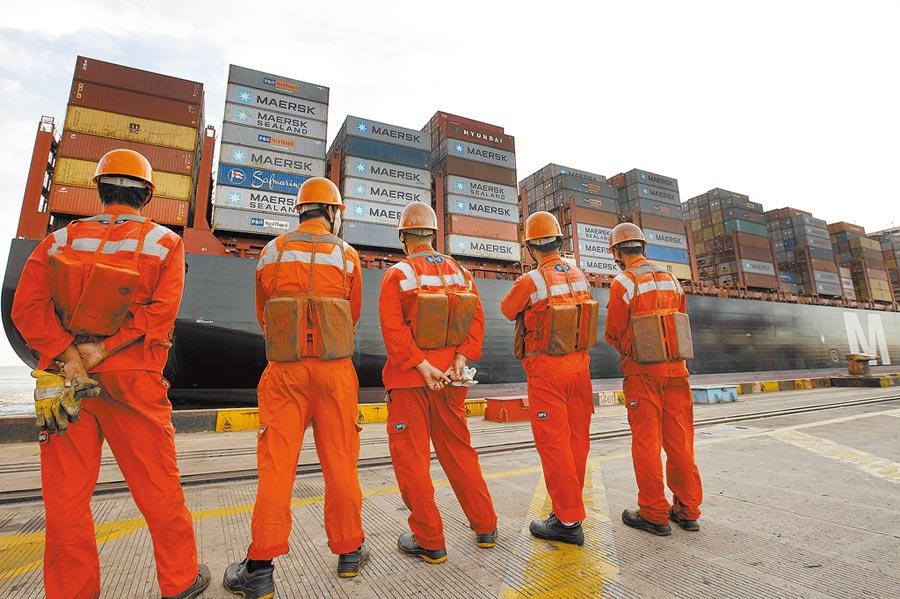 聯合國報告顯示 大陸仍是全球第二大外資流入國。圖為上海自貿區洋山深水港碼頭。(新華社)