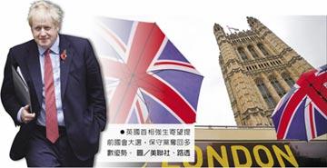 英12月國會大選 強生民調領先