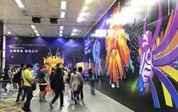 燕子市長強力宣傳2020台灣燈會「藝想世界」現身北捷行銷