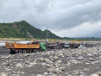 水利署擴大疏濬目標4,000萬立方公尺 充分滿足國內砂石需求
