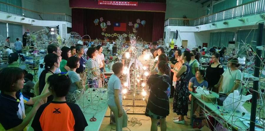 2020台灣燈會在台中-全國花燈競賽,自11/1起開放報名。(台中市政府教育局提供/陳世宗台中傳真)