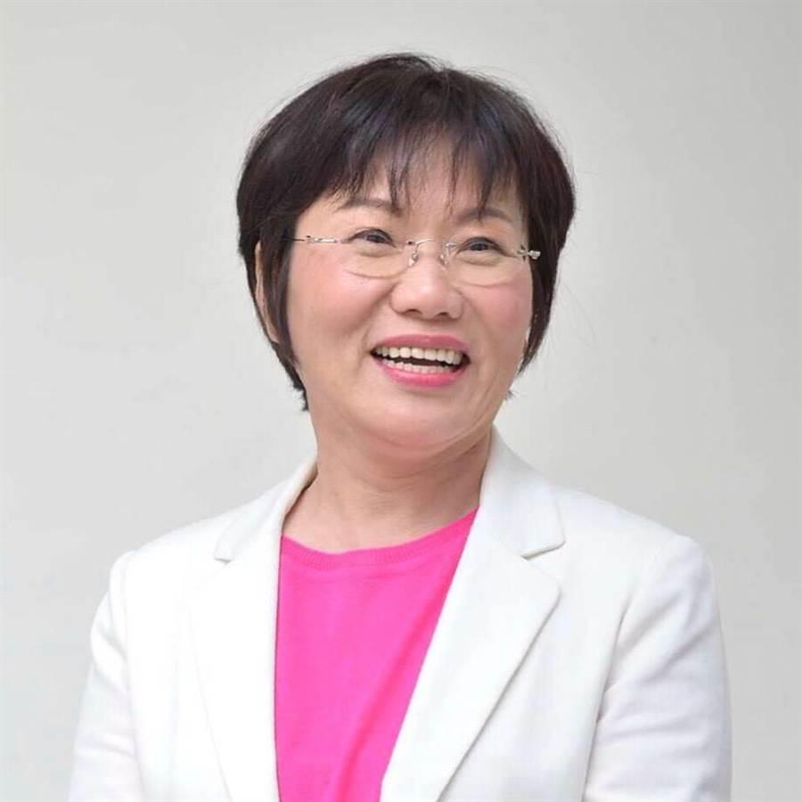 民進黨立委劉世芳衝著打韓議題,喊出「不信韓投給我」。(翻攝臉書)