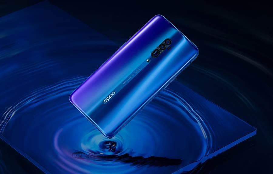 OPPO Reno10倍變焦12GB版全新配色「海洋之心」現身。(OPPO提供/黃慧雯台北傳真)