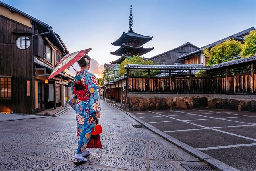 穿和服體驗京都文化/盈達旅遊提供