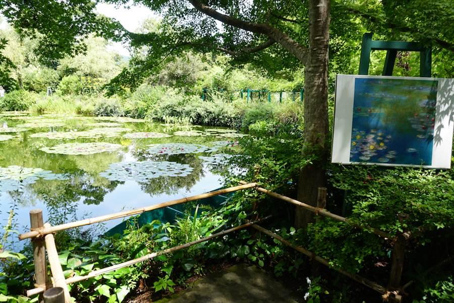 位於日本四國高知縣東部的「北川村莫內庭園馬摩丹」是全球唯一獲認證,可以冠上「莫內庭園」之名的花園。(黃菁菁攝於2019年8月)