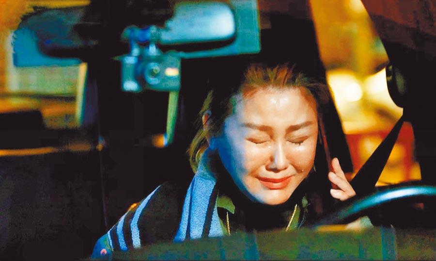 藍心湄劇中的哭戲,令人動容。(拙八郎提供)