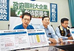 民進黨反學貸免息 國民黨轟苛刻窮學生