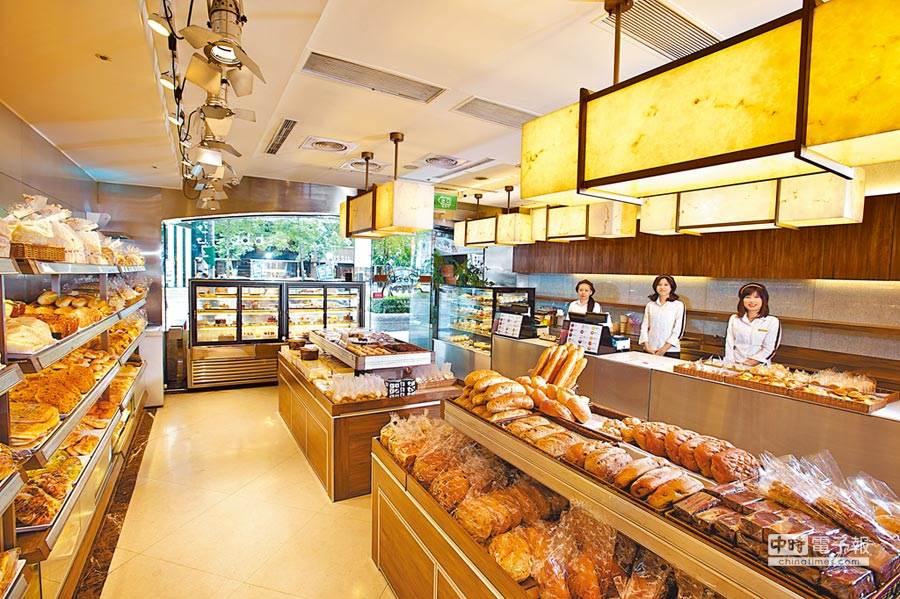 東區神旺飯店的普諾麵包坊也是老饕最愛,台味、日式麵包都備受好評。(神旺大飯店提供 本報系資料照)