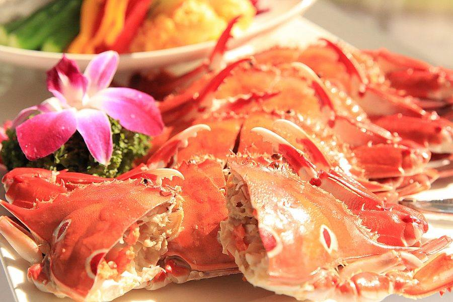美味肥蟹。(新北市漁業處提供)