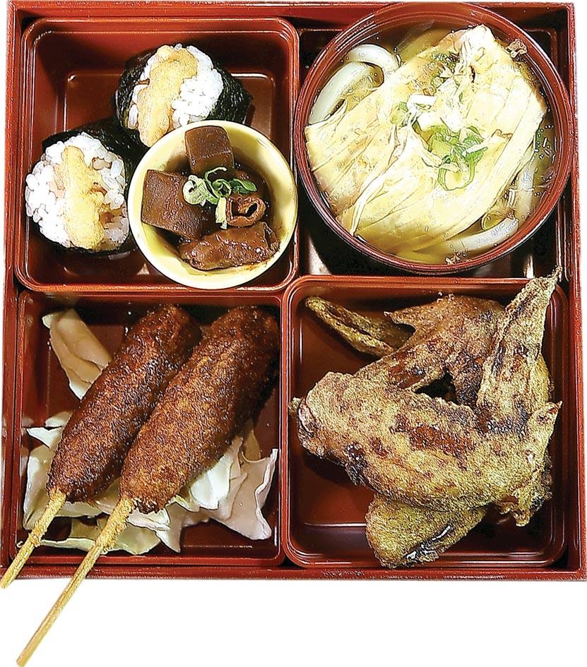 〈世界的山將〉在台北市南京東路、吉林路口開新店,特將招牌菜色集合在一起推出六款午間定食套餐。圖/姚舜