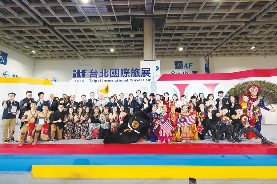 2018 ITF台北國際旅展共吸引37.6萬人次入場,今年可望持續增加。