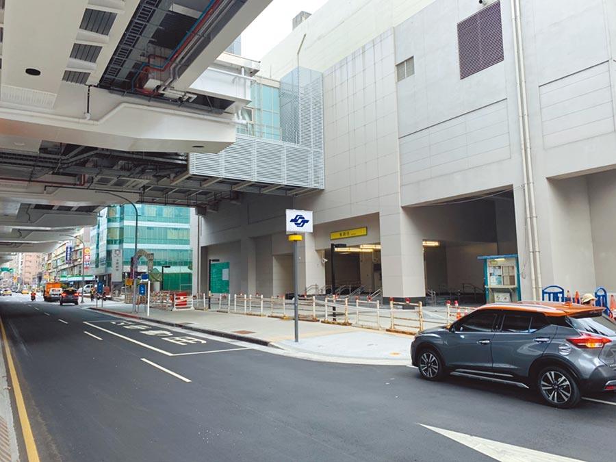 捷運環狀線板新站將於2019年底前通車。圖/信義房屋提供