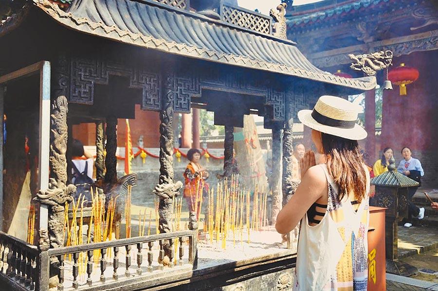 關公成為連結華人世界信仰文化的共通符號。(周麗川攝)