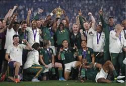 世界盃橄欖球》南非黑白大團結 擊敗英格蘭摘冠