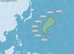 今起東北風來襲 哈隆颱風生成預計北轉