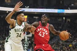NBA》席亞卡獲單周最佳 暴龍隊史第六人