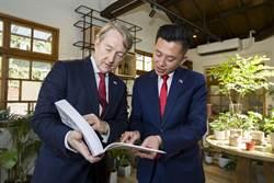 新竹市長林智堅力推城市外交與11國城市交流
