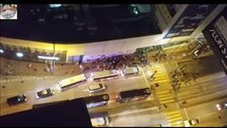 港男砍傷3人 被現場示威者「私了」