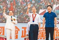 韓壓軸致辭 妙天祝當選總統