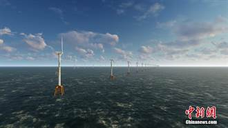 陸最大單體海上風電項目首台風機並網發電