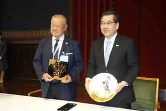 林伯豐理事長榮獲日本天皇頒贈「旭日重光章」
