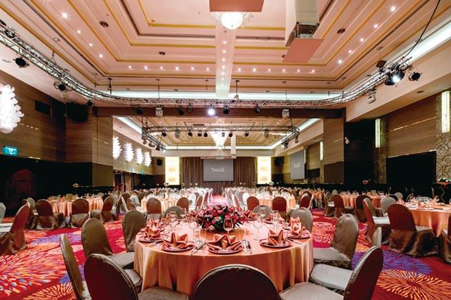 台北花園大酒店推出尾牙春酒旺年宴,各式宴會空間與餐廳,可滿足各企業需求。圖/業者提供