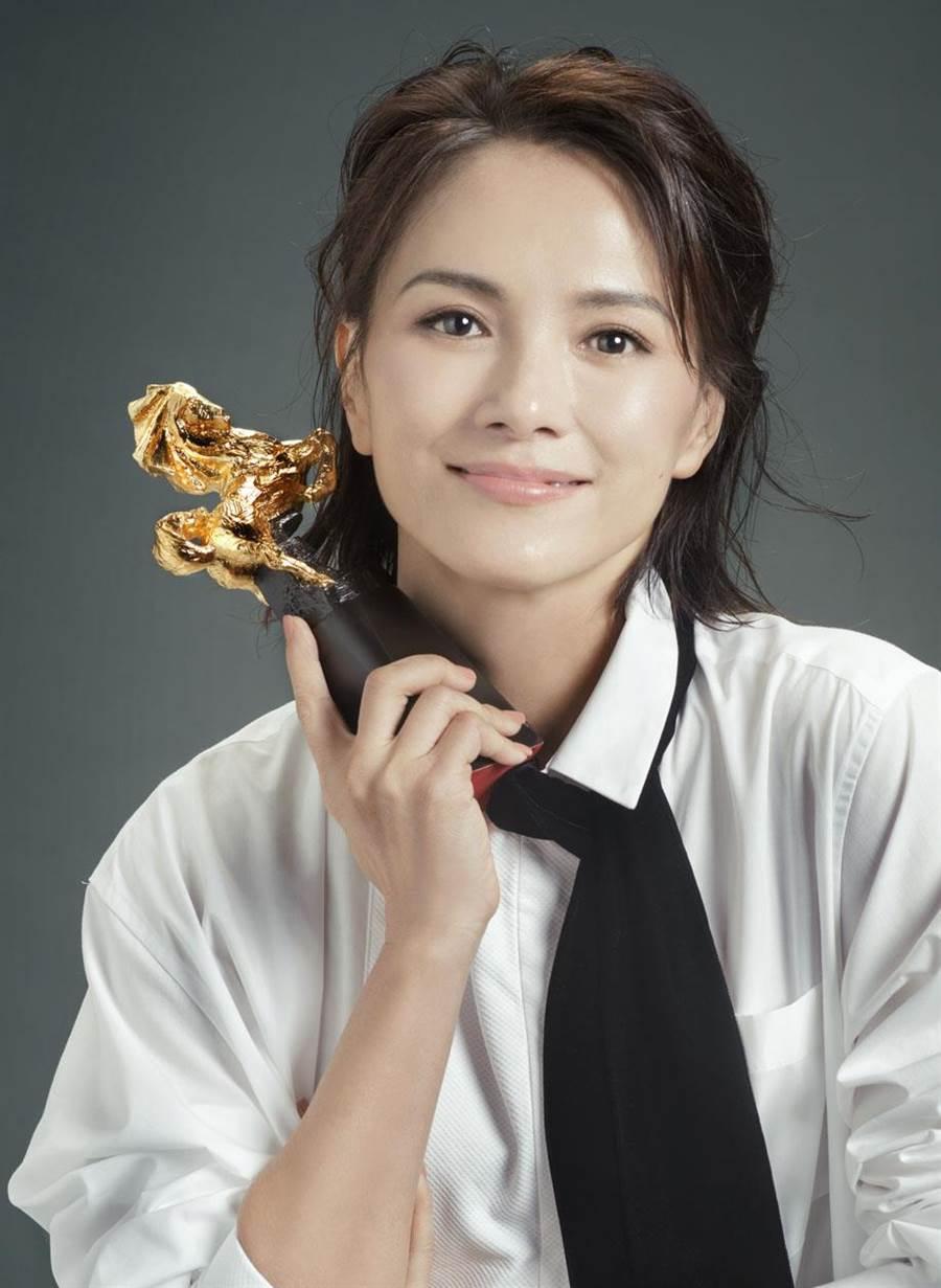 第56屆金馬獎最佳女主角入圍者李心潔。(金馬執委會提供)