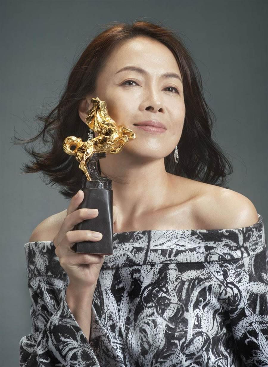 第56屆金馬獎最佳女主角入圍者柯淑勤。(金馬執委會提供)