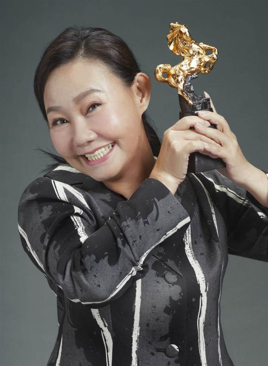 第56屆金馬獎最佳女主角入圍者呂雪鳳。(金馬執委會提供)