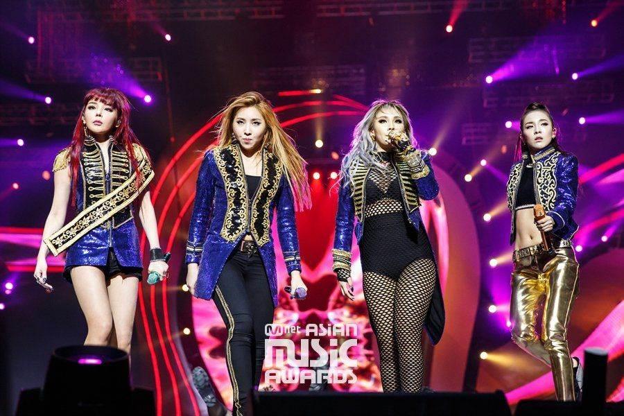 朴春的最終《Queendom》展現當年2NE1的最後合體。(圖/翻攝自韓網)