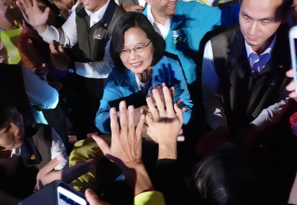 總統蔡英文。(資料照,姚志平攝)
