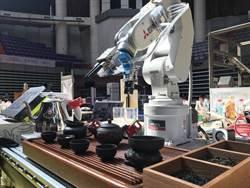 浙大研發的茶道機器人會泡茶 還能唱小曲