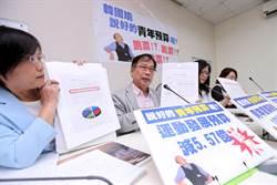 高市教育預算減 教師質疑韓青年政策跳票