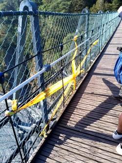 男童奧萬大吊橋墜亡 園區經理、巡查人員各15萬元交保