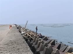 布袋商港垂釣區只限機車進入 釣客熱昏頭