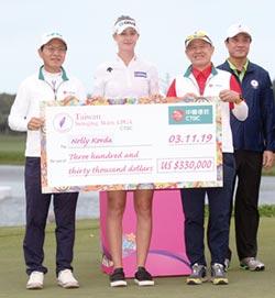 中信贊助LPGA 臺灣選手表現亮眼
