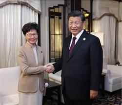 習近平上海晤林鄭月娥 稱「高度信任充分肯定」其工作