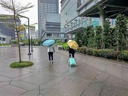 周二北、東部有雨!中南部空品差 18縣市防強風