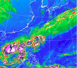 氣象局:第24號颱風「娜克莉」生成 路徑曝光