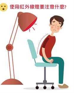 肩頸痛用紅外線燈會曬黑?食藥署破解迷思