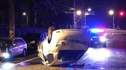 警追闖紅燈致駕駛自撞亡 檢不起訴