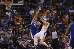 NBA》恩比德禁賽 七六人不敵太陽嘗首敗