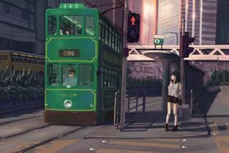 攝影結合繪畫 紙上導覽唯美香港