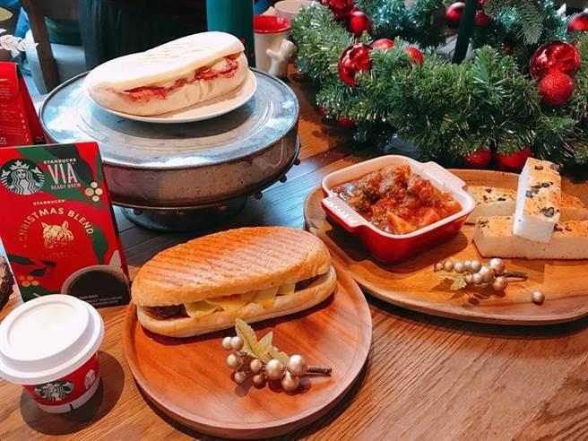 星巴克5日宣布,首度攜手台灣牛排教父、米其林星級主廚鄧有癸師傅,推出三款「星想餐名廚系列」餐點,11月6日全台上市。圖/劉馥瑜