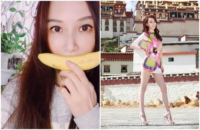 蕭薔最新近照(左)曝光,少女美顏讓粉絲讚嘆。(取自蕭薔臉書、本報系資料照)