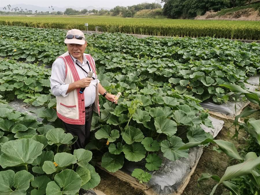 高德錚博士鼓勵農友精進技術,把品質顧好。(張晉銘攝)