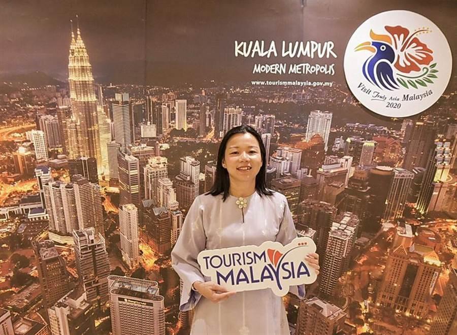 (馬來西亞友誼及貿易中心代表何瑞萍表示,台灣是馬來西亞重要客源國,今年上半台灣客已為馬來西亞創造62億元台幣的產值。圖/馬來西亞觀光局)