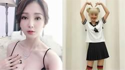 陳子玄玩角色扮演 「金髮水手服」辣露絕對領域